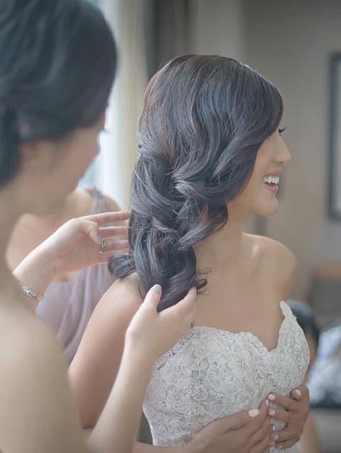 Bridal wedding Hair Makeup Sydney