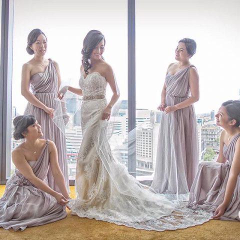Bride and bridemates Sassy Hair Makeup sydney