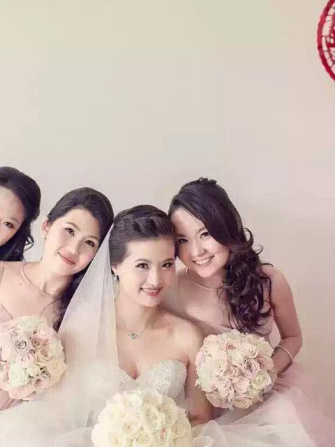 Bride bridemates Hair Makeup Melbourne