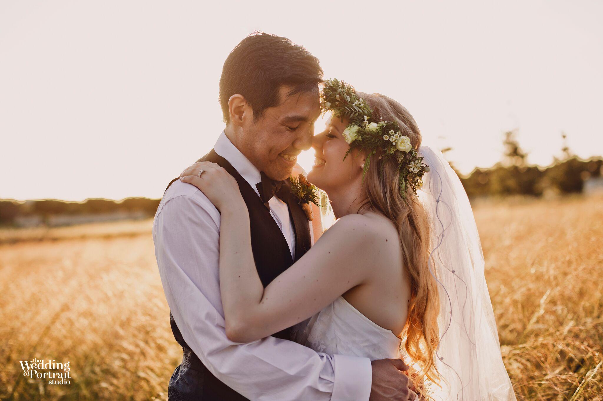 Sassy wedding portrait photography and make up