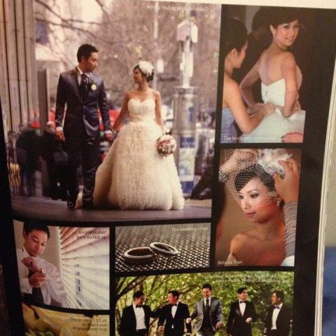 Andre Huber wedding magazine