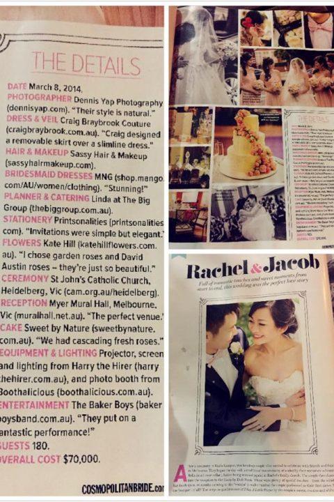Jacob and Rachel marriage details