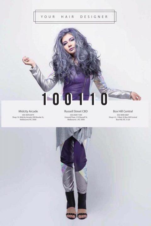 hair designer Melbourne publication