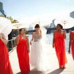 Bride and bridemates Hair Makeup sydney